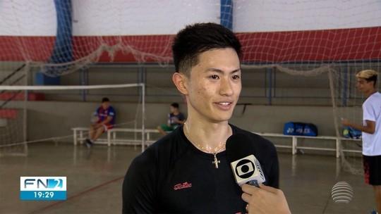 Prudentino defende o Brasil no Sul-Americano de badminton; assista