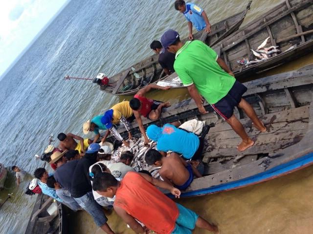Pescadores não tinham registro de pesca (Foto: Icmbio/Divulgação)