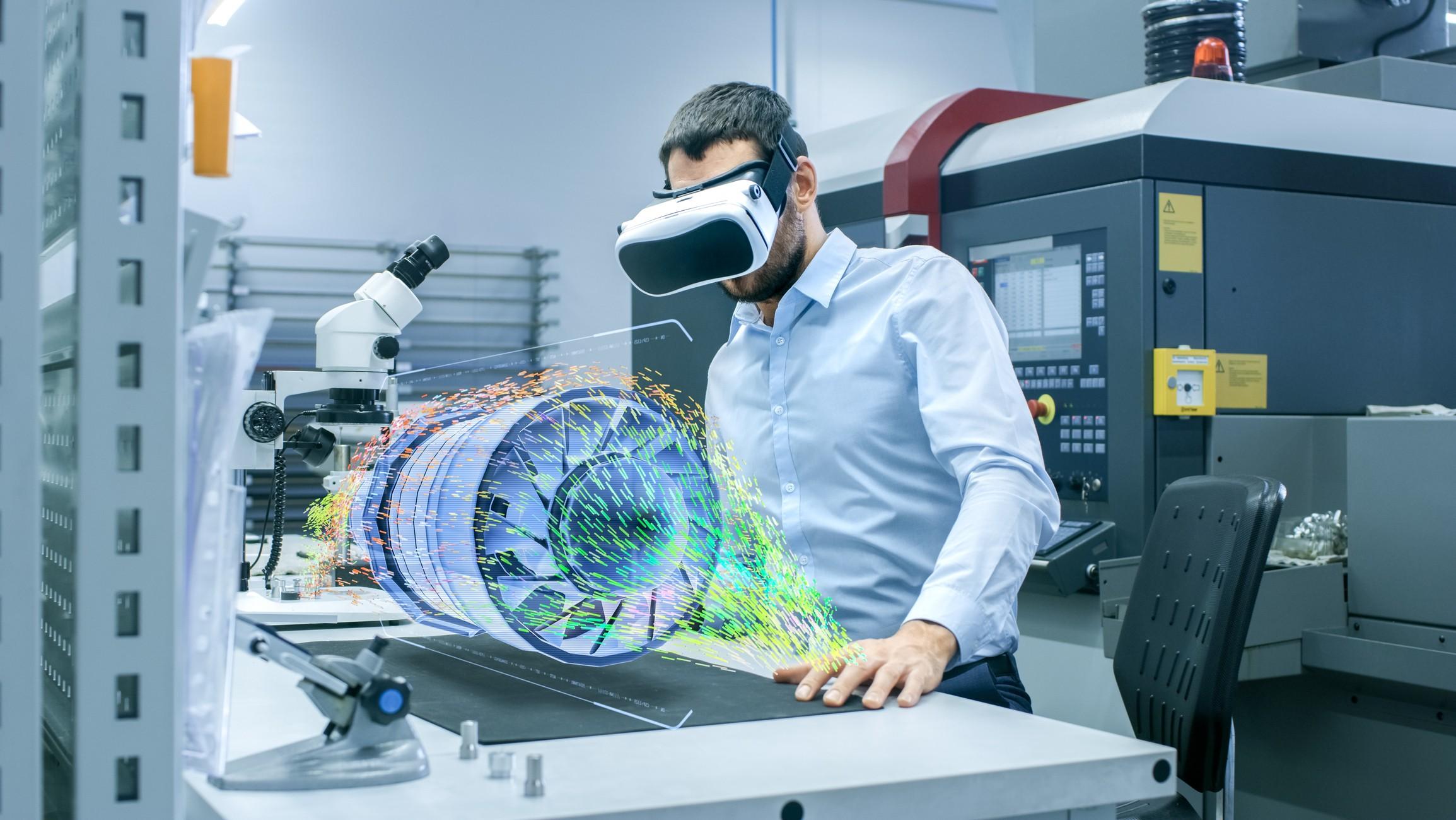Uso de realidade virtual para treinamentos tem se tornado comum (Foto: Thinkstock)