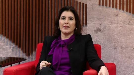 'O Senado não tem dificuldade nenhuma em votar um projeto da Câmara', diz Simone Tebet