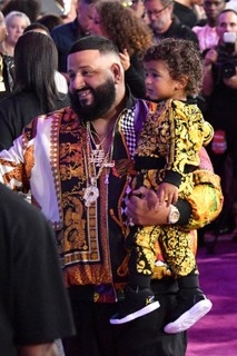 DJ Khaled e Asahd (Foto: Getty Images)