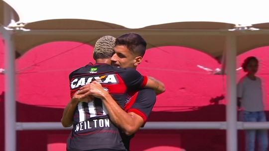 Os gols de Vitória 2 x 1 Ceará pela 6ª rodada do Brasileirão