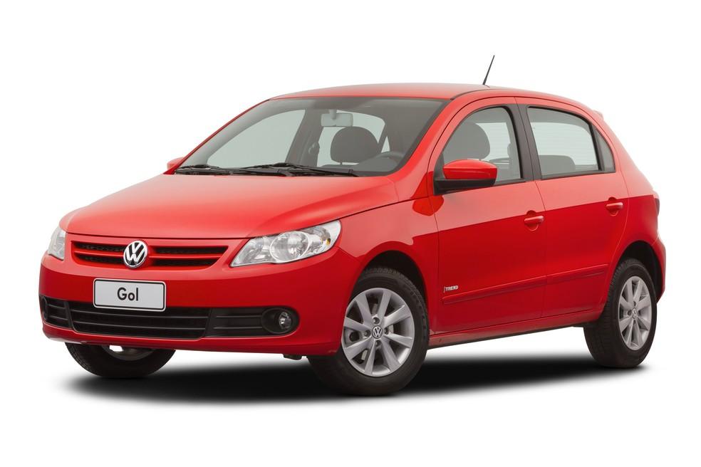 Volkswagen Gol é produzido no Brasil desde 1980 — Foto: Divulgação