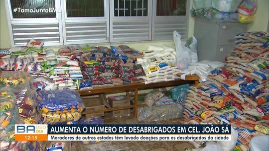 Cerca de 1.500 casas estão sem água em cidade da Bahia onde barragem rompeu