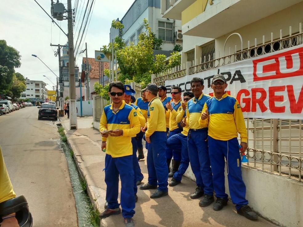 Carteiros são a maioria dos grevistas dos Correios (Foto: Rui da Silva/Arquivo Pessoal)