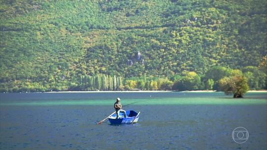 Com dois milhões de anos, lago Ohrid, na Macedônia do Norte, é o mais antigo da Europa