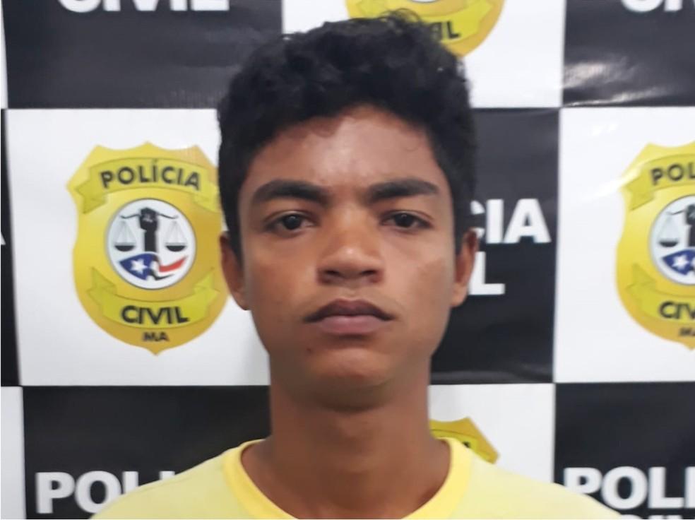 Youtuber Mateus Oliveira foi preso em Imperatriz por suspeita de estupro de três crianças — Foto: Divulgação/Polícia Civil
