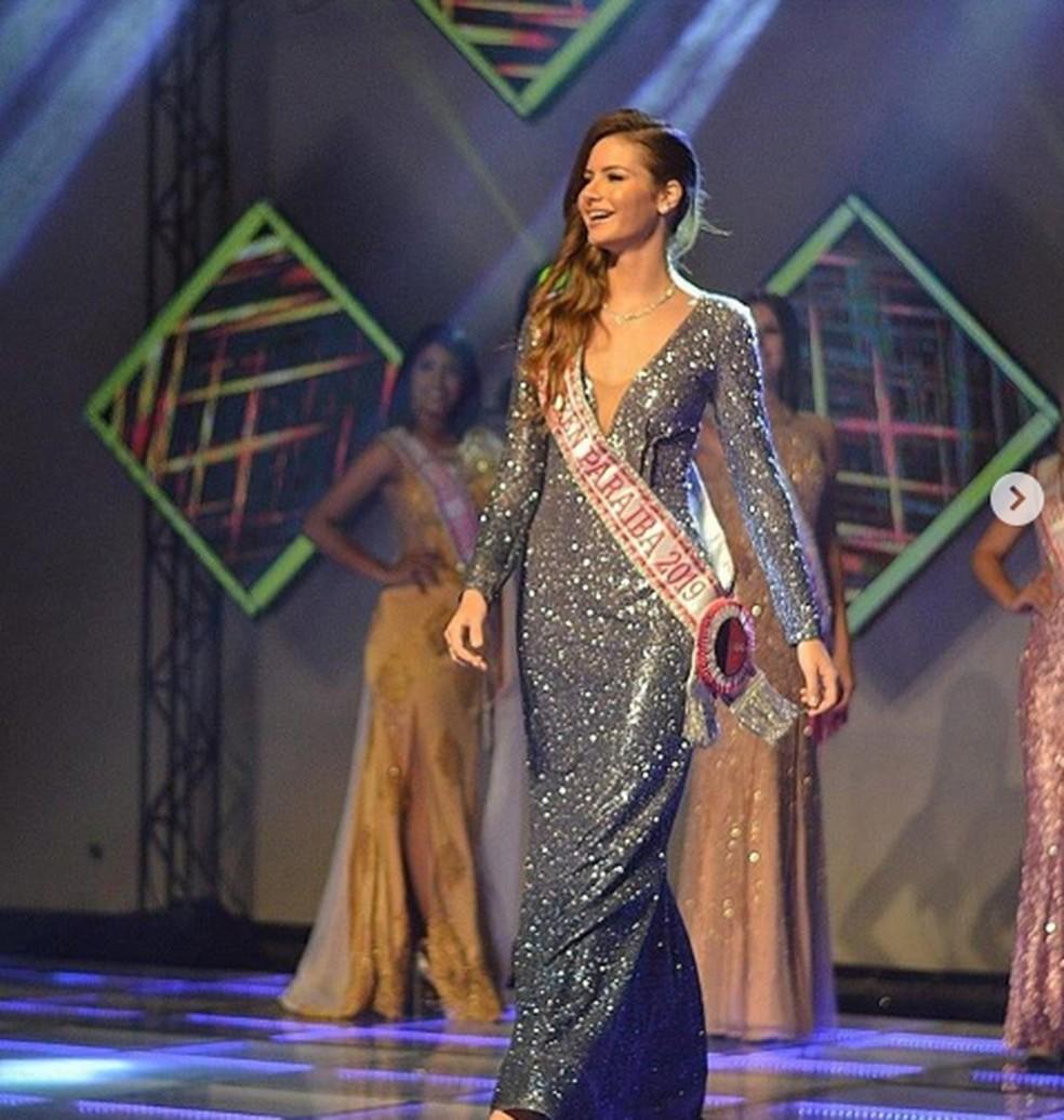 Paraibana venceu Miss Teen Brasil Universe 2020, realizado em novembro deste ano, em Natal, no Rio Grande do Norte — Foto: Joyce Freitas/Arquivo Pessoal