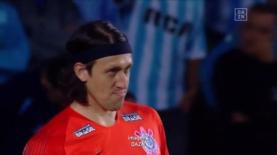 Cássio defendeu duas cobranças e venceu as três últimas disputas de pênaltis pelo Corinthians