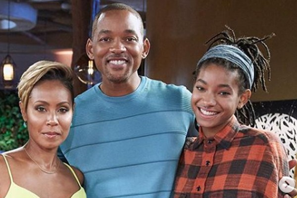 Jada Pinkett Smith, Will Smith e Willow Smith (Foto: reprodução / Instagram)