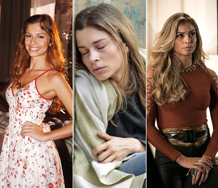 Grazi Massafera em 'Páginas da Vida', 'Verdades Secretas' e 'A Lei do Amor' (Foto: Globo/Gshow)