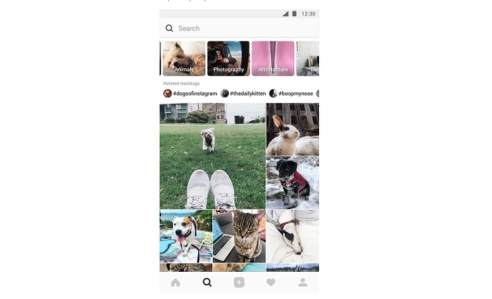 Instagram vai ter nova aba Explorar — Foto: Divulgação/ Instagram