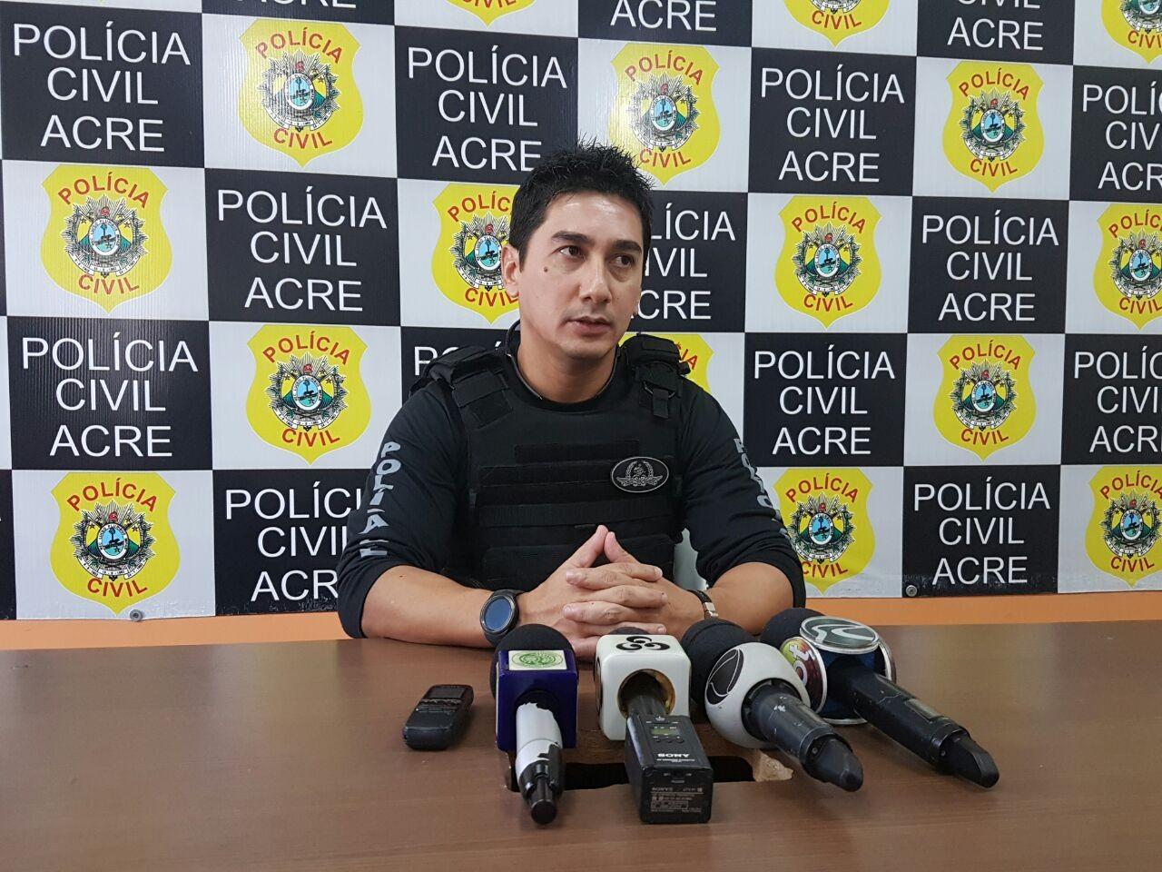 Delegado diz que adolescente apreendido em operação é responsável por vários crimes em Cruzeiro do Sul