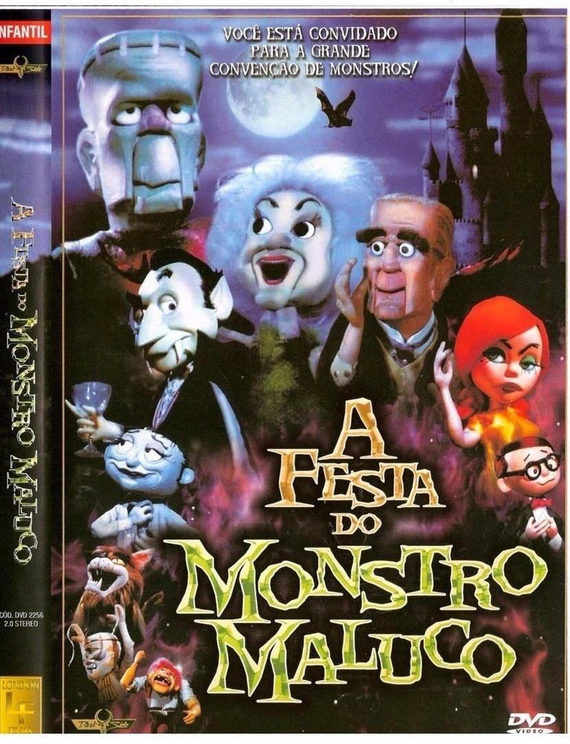 DVD de A Festa do Monstro Maluco (Foto: Reprodução)
