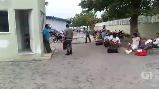 Pacientes são retirados de hospital em Floriano após incêndio