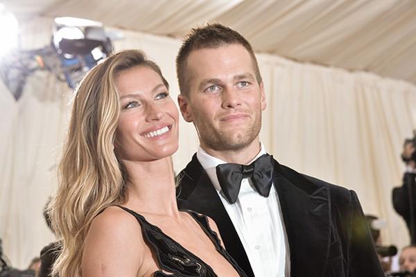 Gisele Bundchen e Tom Brady (Foto: Getty Images)