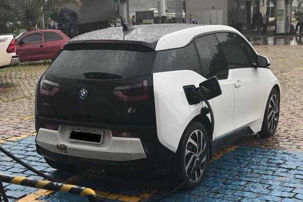 BMW i3 de Edgar Escobar (Foto: Divulgação)