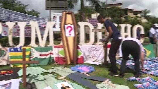 Homenagens marcam os 3 meses da tragédia de Brumadinho