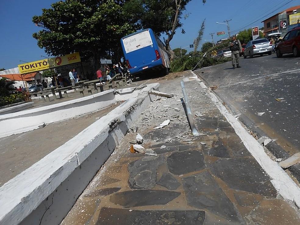 Por pouco não ocorreu uma tragédia (Foto: Bruno Santanna/Tribuna de Parnaíba)