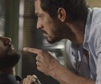 Diogo (Armando Babaioff) e Marcos (Romulo Estrela) | TV Globo