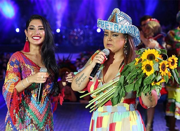 Preta Gil e Thaynara OG (Foto: Denilson Santos e Dilson Silva/AgNews)