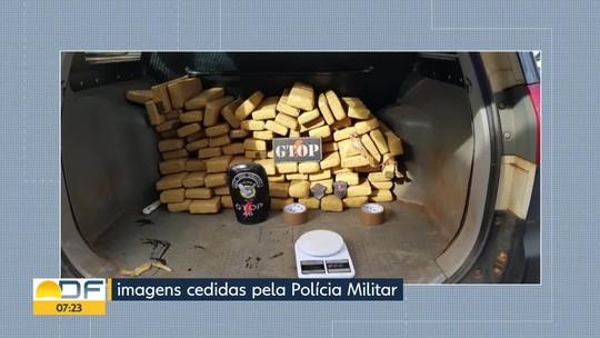 Polícia Militar apreende 100 kg de maconha em quarto de criança no DF; ninguém foi preso