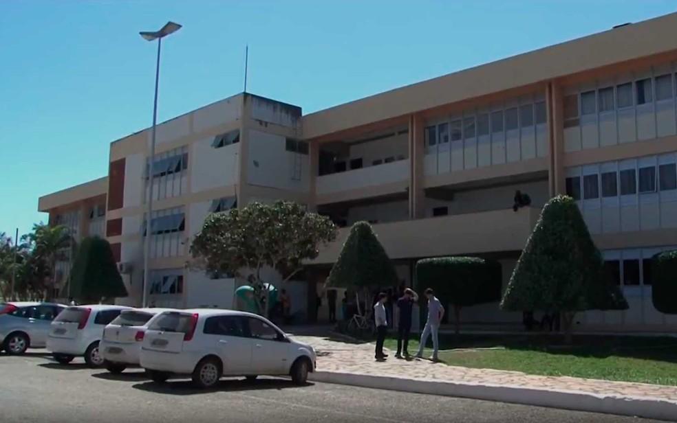 Campus da Uesb em Vitória da Conquista — Foto: Imagem/ TV Sudoeste