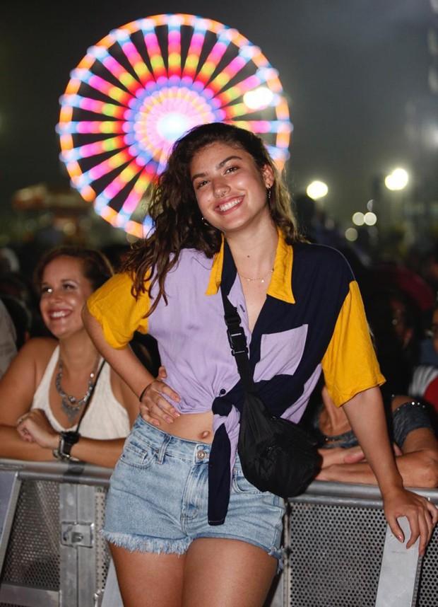 Giovanna Grigio no Festival Virada Salvador (Foto: Ed.Globo/Ricardo Cardoso)