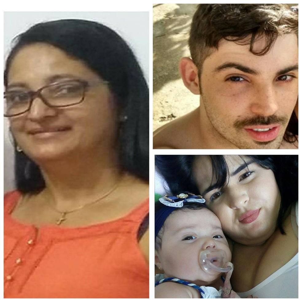 Quatro pessoas da mesma família morreram afogadas após carro em que estavam ter sido arrastado pela correnteza (Foto: Arquivo pessoal)