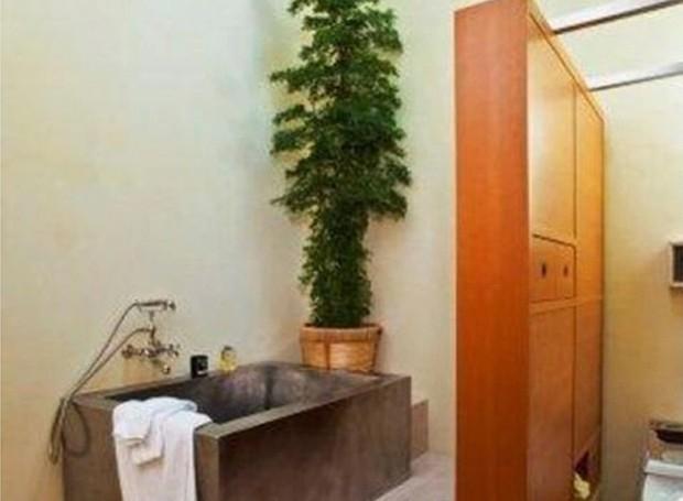 Um dos banheiros possui um ar de spa (Foto: Getty Images/ Reprodução)