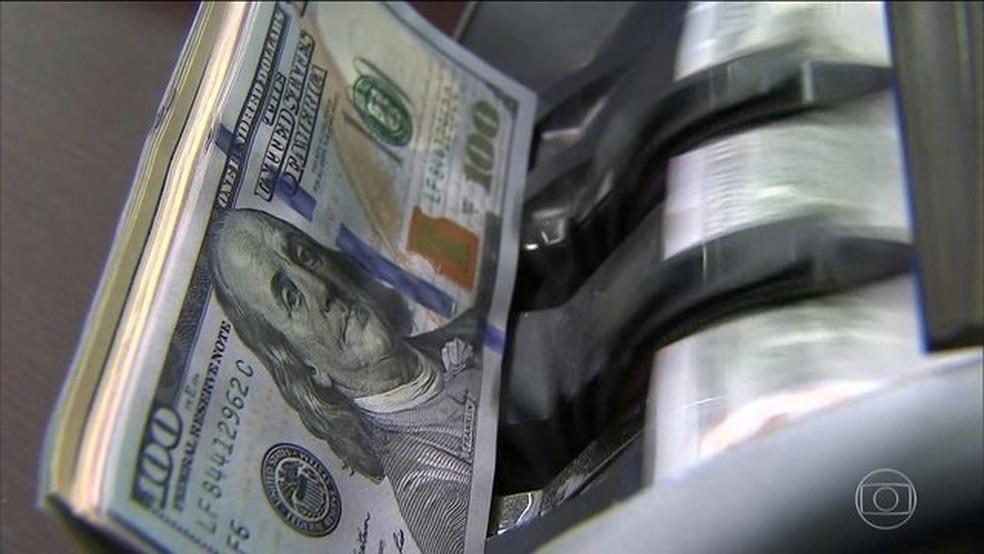 Dolar — Foto: Reprodução: TV Globo
