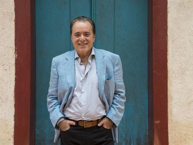 Tony Ramos celebra seus 70 anos (Foto: Estevam Avillar/Globo)