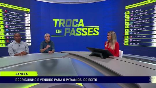 Ricardinho diz que Corinthians vendeu Rodriguinho por valor muito abaixo do que ele vale