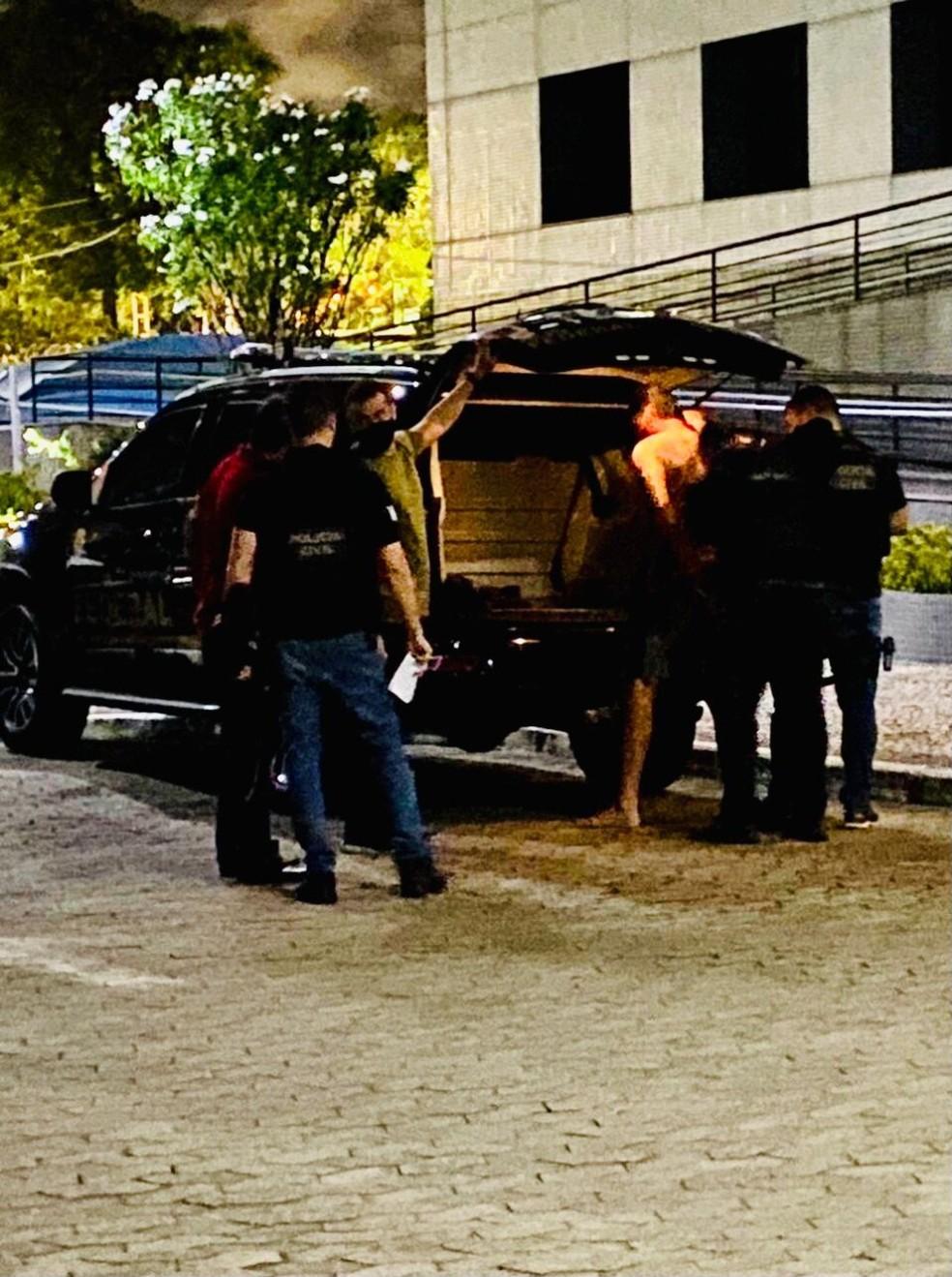 Operação prendeu foragido internacional acusado de abuso sexual contra crianças nos EUA — Foto: Divulgação/Polícia Federal