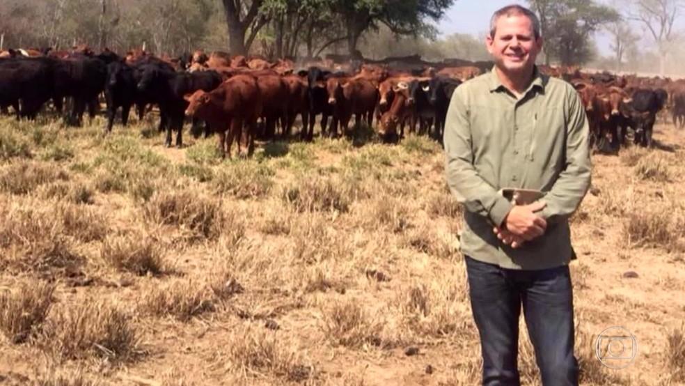 Dario Messer está foragido — Foto: Reprodução/TV Globo