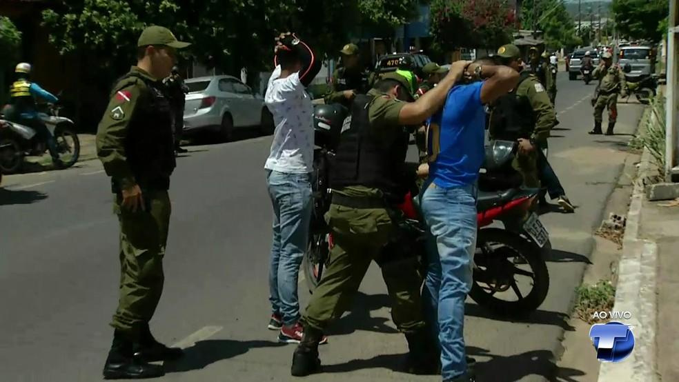-  Bairros estão recebendo ações de fiscalização com o objetivo de diminuir os índices de violência em Santarém  Foto: Tv Tapajós/Reprodução
