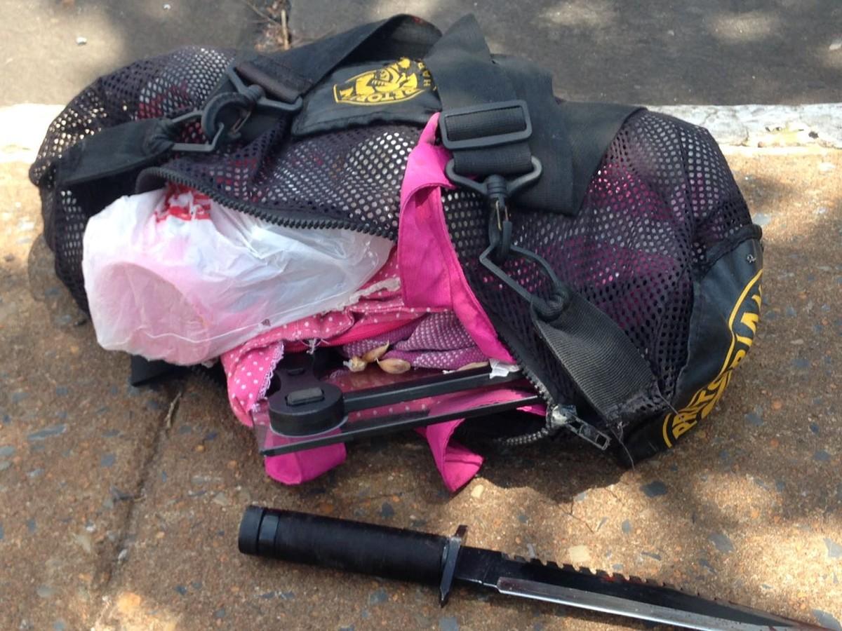 Ladrão leva facadas durante roubo a casa em Cuiabá e morre em avenida após correr cerca de 500 metros