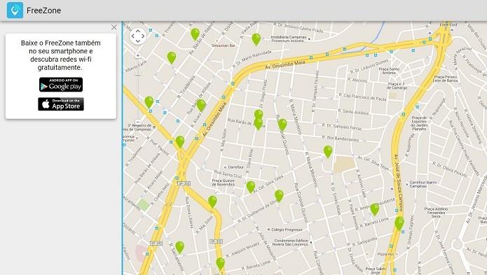 O free Zone possui também interface web para você usar com seu notebook (Foto: Felipe Alencar/TechTudo)