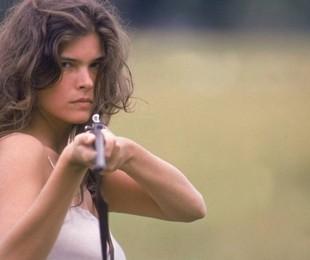 Cristiana Oliveira como Juma Marruá em 'Pantanal'   Reprodução