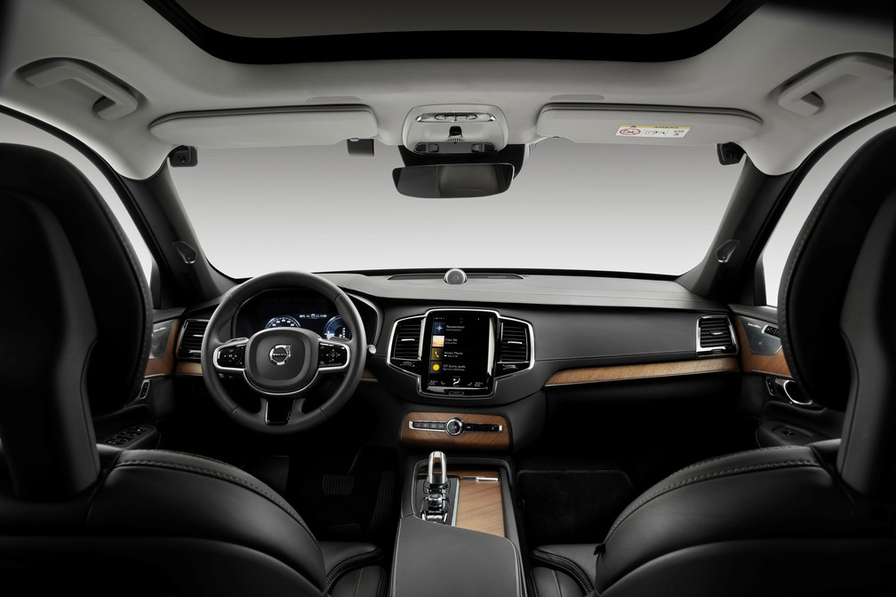 Volvo já testa câmeras e sensores que detectarão motorista embriagado ou desatento — Foto: Divulgação/Volvo