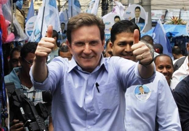 Marcelo Crivella (PRB) concorre à prefeitura do Rio de Janeiro (Foto: Divulgação)