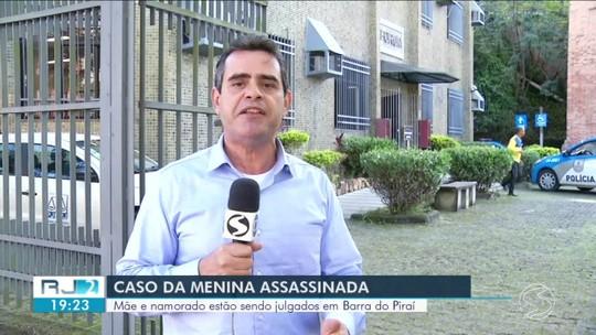 Testemunhas são ouvidas em investigação de suspeitos de matar menina em Barra do Piraí