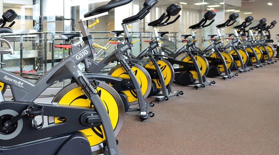 Os equipamentos produzidos pela SportsArt são usados na EcoGym (Foto: Divulgação)