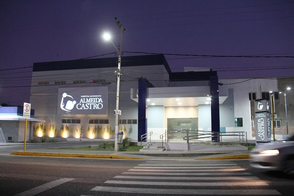 Hospital Maternidade Almeida Castro, em Mossoró — Foto: Divulgação