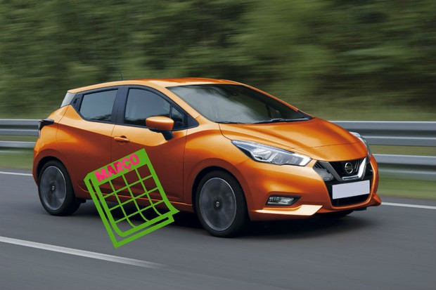 """Já pensou em ter um """"Nissan Março"""" em sua garagem? (Foto: Autoesporte)"""