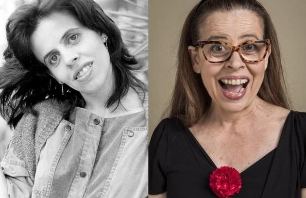 Cristina Pereira viveu Gabi, uma estudante brilhante. O último trabalho da atriz na TV foi em 'Salve-se quem puder' (Foto: Reprodução)