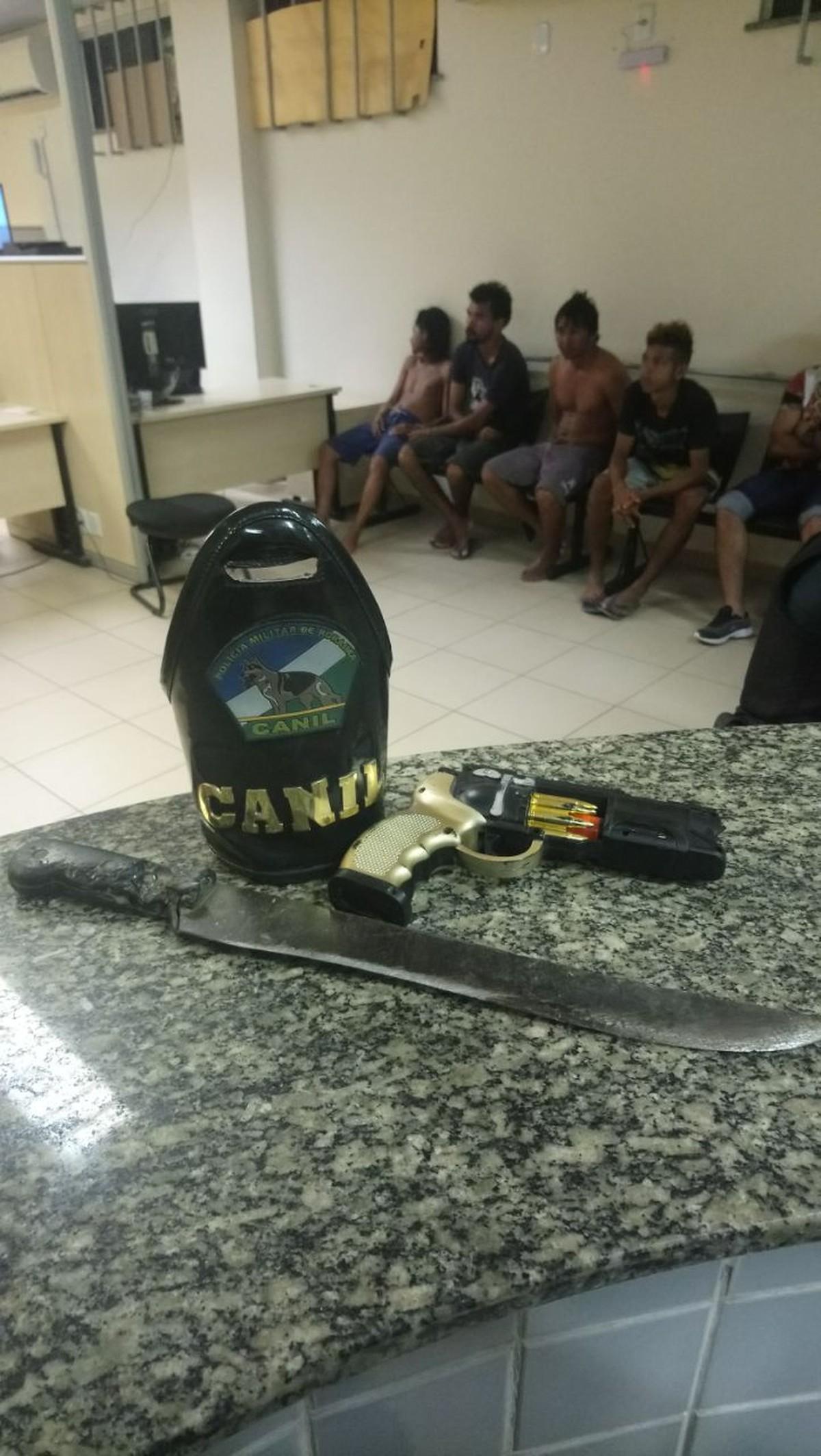 Foragido da Justiça que responde por homicídio e furto é preso com dupla armada em Boa Vista