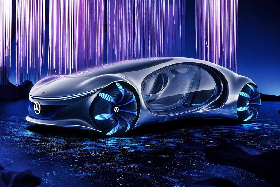 Mercedes-Benz Vision AVTR (Foto: Divulgação)