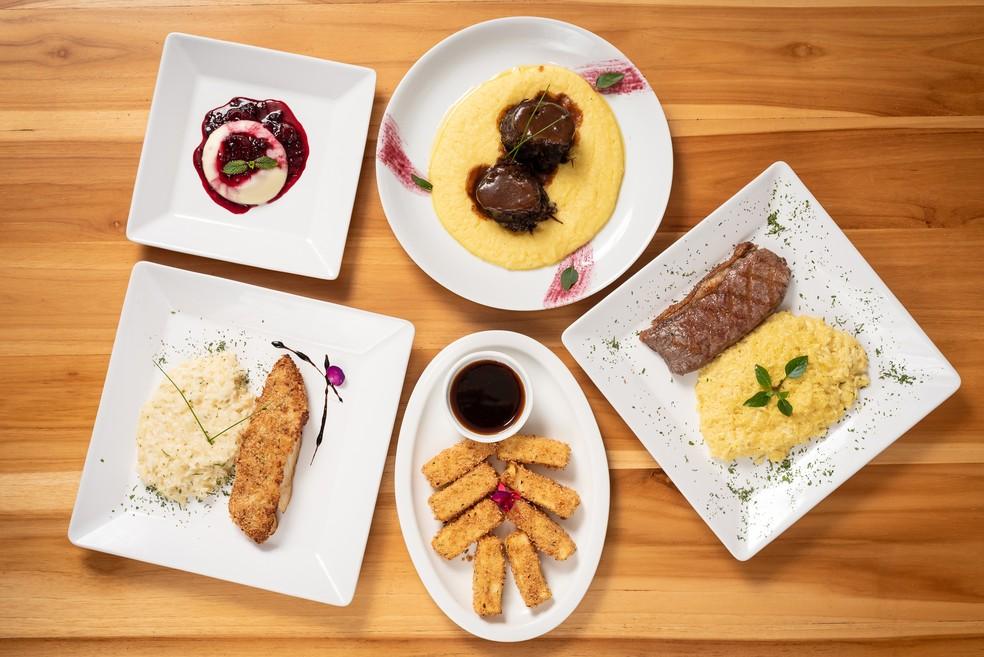 Menu do restaurante 360 Cozinha Contemporânea, participante da 20ª edição do Restaurant Week — Foto: Telmo Ximenes/Divulgação