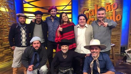 Cordas & Rimas, Juliano Gomes e Quinto Oliveira são os convidados do 'Galpão Crioulo'